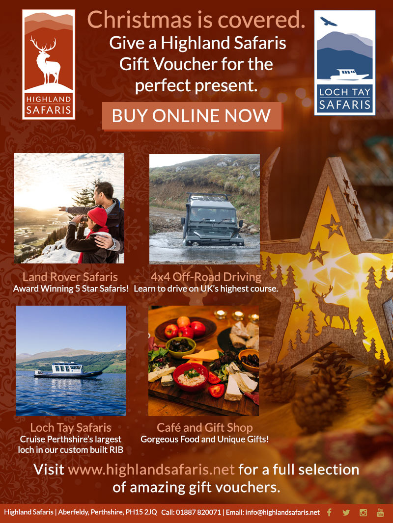 Gift Vouchers from Highland Safaris